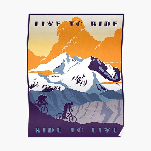 Cycling Posters Redbubble
