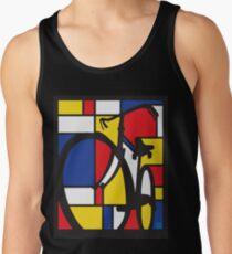 Camisetas de tirantes para hombre Mondrian Bicycle