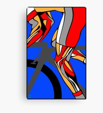 Tour De France Legs Canvas Print