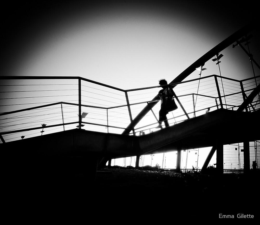 Kananook Bridge by Emma  Gilette