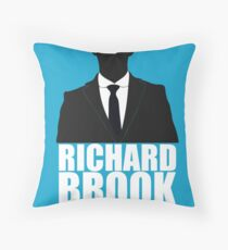 Richard Brook is Innocent Throw Pillow