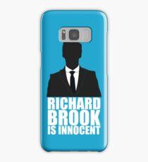 Richard Brook is Innocent Samsung Galaxy Case/Skin