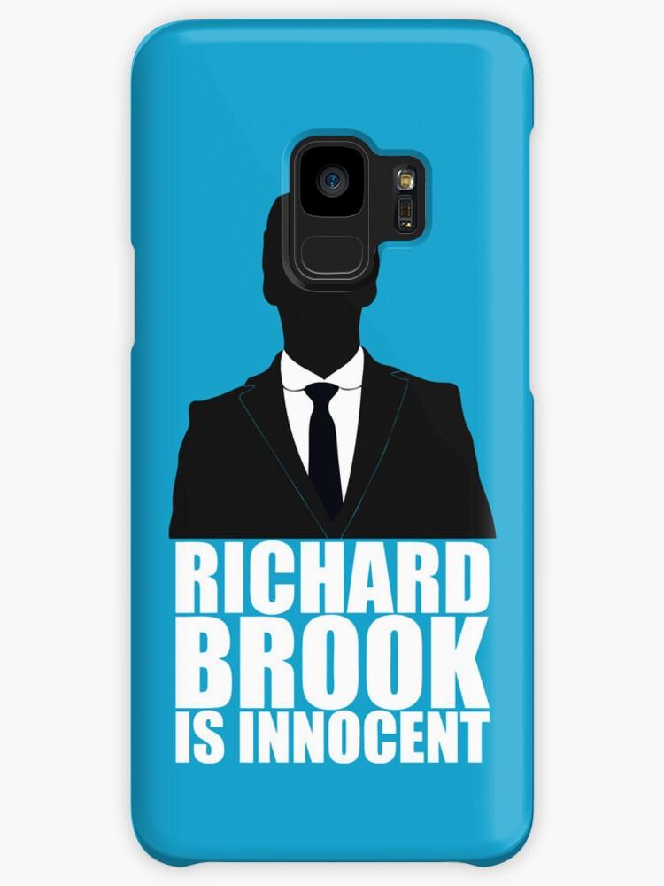 Richard Brook is Innocent by imbusymycroft