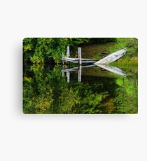 Water reflection  Canvas Print