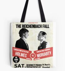 HOLMES vs MORIARTY Tote Bag