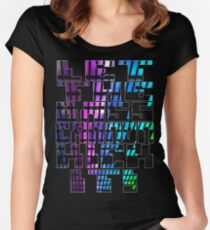 Let The Bass Cannon Kick It! Women's Fitted Scoop T-Shirt