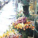Florist after the rain by vasenoir