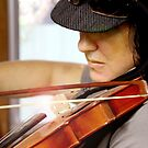 Tania Rose on Violin by Tania Rose