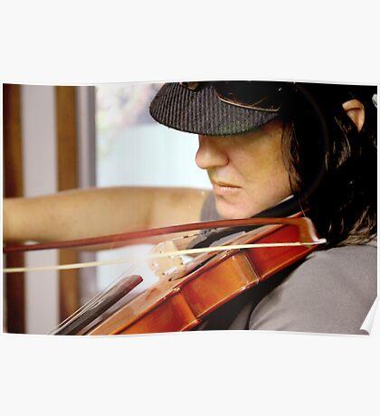 Tania Rose on Violin Poster