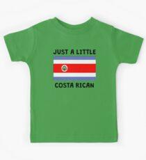 Just A Little Costa Rican Kids Tee