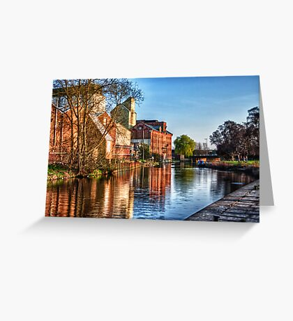 The Embankment Greeting Card