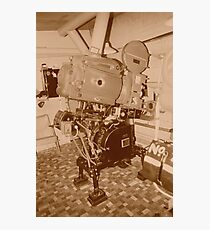 projector 35mm Photographic Print