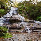Katoomba Falls, Blue Mountains NSW by JennyMac