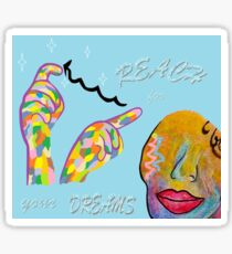 ASL Reach for your Dreams Sticker