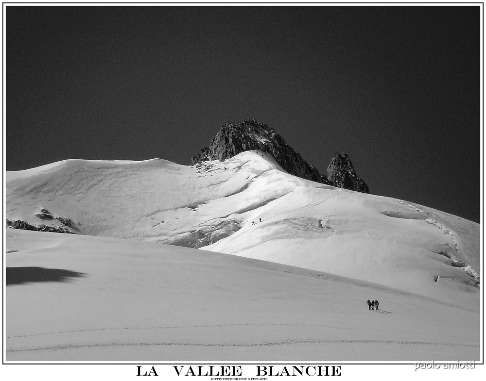 la vallee blanche by paolo amiotti