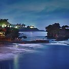 Tanah Lot Temple Sunset by Paul Moore