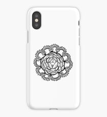Art Deco Floral Mandala iPhone Case/Skin