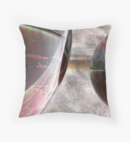 Spheroids #1 Throw Pillow