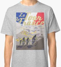 Le Tour de France retro poster Classic T-Shirt