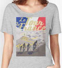 Le Tour de France retro poster Women's Relaxed Fit T-Shirt