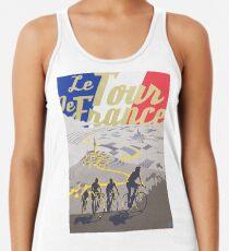 Camiseta con espalda nadadora Cartel retro de Le Tour de France