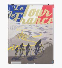 Le Tour de France retro poster iPad Case/Skin