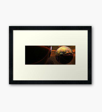 Spheroids #2 Framed Print