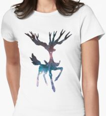 Xerneas used geomancy Women's Fitted T-Shirt