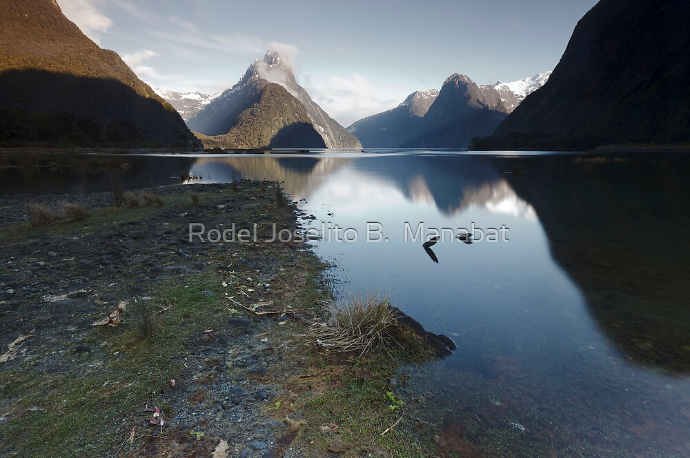 Milford Sound by Rodel Joselito B.  Manabat