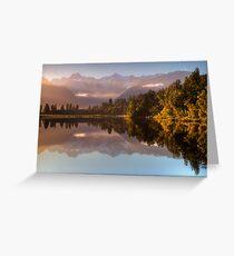 Lake Matheson Greeting Card