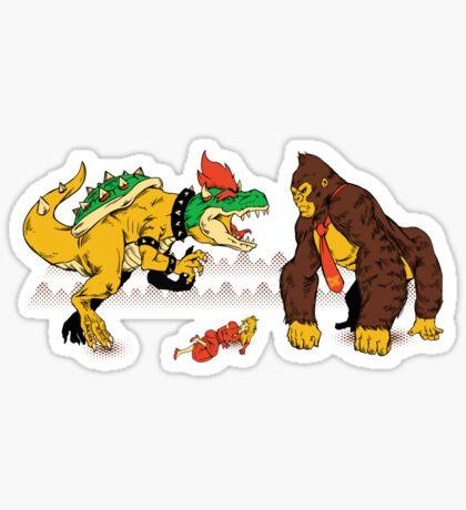 Boss vs Kong Sticker