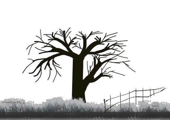 Tree in Seasons - 1 by mindprintz