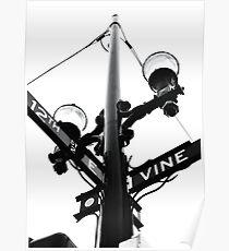 Vine and 12th - Downtown Cincinnati Poster