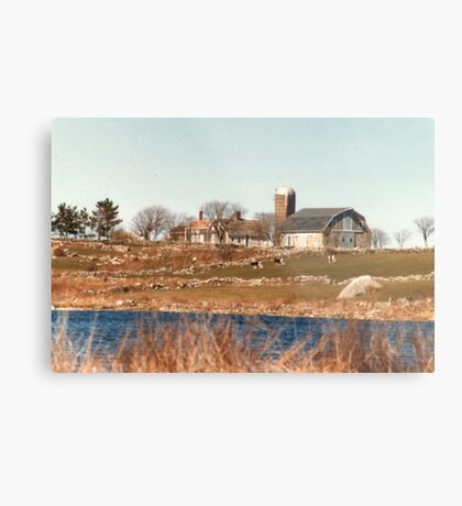 Old New England Farm Metal Print