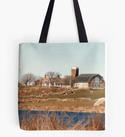Old New England Farm Tote Bag