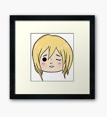 Krista (Historia) Wink! Framed Print