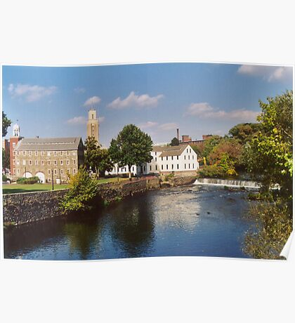 Slater Mill Complex Poster