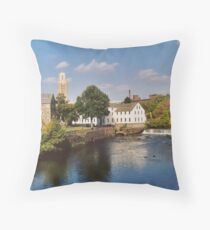 Slater Mill Complex Throw Pillow