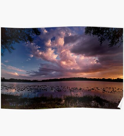 as clouds roll by Poster