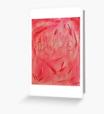 Shades of Pink for HOPE Greeting Card