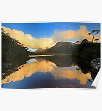 Cradle Mountain Lake Lilla Poster