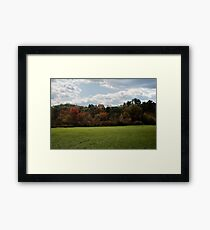 Wall of Color Framed Print