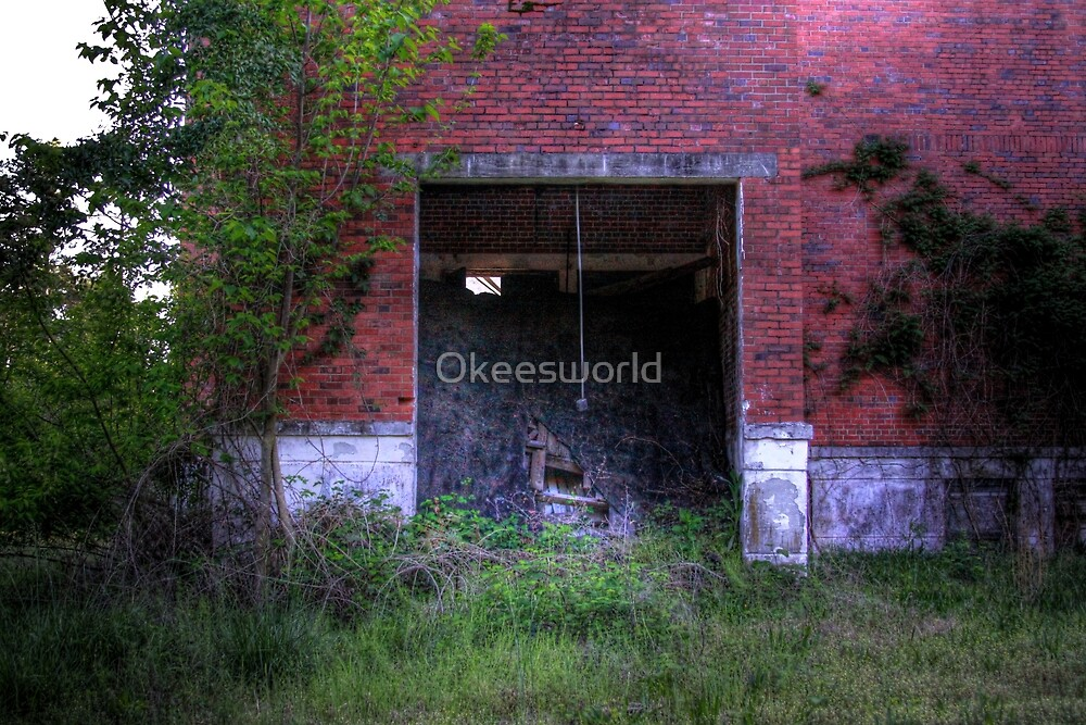 Collapsed Entrance by Okeesworld