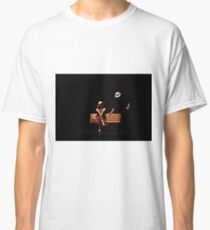 Couple on a park bench at night (stage performance)  Classic T-Shirt