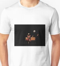 Couple on a park bench at night (stage performance)  T-Shirt