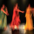 Blurred Dancers in motion  by PhotoStock-Isra
