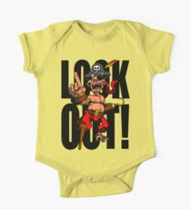 Look Out!  One Piece - Short Sleeve