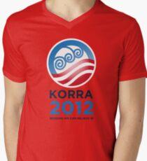 Korra 2012 Men's V-Neck T-Shirt