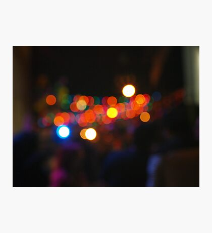 West Hollywood Lights 3 Photographic Print
