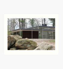 Mid Century Modern -Lee House 2 Art Print